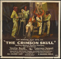 "Movie Posters:Black Films, The Crimson Skull (Norman, 1922). Six Sheet (81"" X 81"") andPressbook. Black Films.... (Total: 2 Items)"