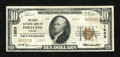 National Bank Notes:Oregon, Portland, OR - $10 1929 Ty. 2 The First NB Ch. # 1553. ...