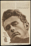 "Movie Posters:Documentary, The James Dean Story (Warner Brothers, 1957). Poster (40"" X 59""). Documentary...."