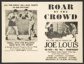 Movie Posters:Sports, Roar of the Crowd Lot (Norman, 1953). Heralds (10) (Various Sizes). Sports.... (Total: 10 Items)