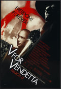 "Movie Posters:Action, V for Vendetta (Warner Brothers, 2005). One Sheet (27"" X 40"")Advance. Action...."