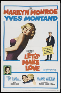 "Let's Make Love (20th Century Fox, 1960). One Sheet (27"" X 41""). Comedy"