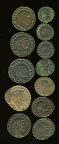 Ancients:Ancient Lots  , Ancients: Lot of twelve Roman Imperial AE folles.... (Total: 12coins)