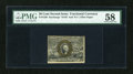 Fractional Currency:Second Issue, Fr. 1320 50c Second Issue PMG Choice About Unc 58....