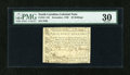 Colonial Notes:North Carolina, North Carolina December, 1768 40s PMG Very Fine 30....