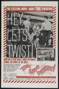 """Movie Posters:Rock and Roll, Hey, Let's Twist (Paramount, 1962). One Sheet (27"""" X 41"""") Style B.Rock and Roll...."""
