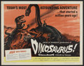 "Movie Posters:Science Fiction, Dinosaurus! (Universal International, 1960). Half Sheet (22"" X28""). Science Fiction.. ..."