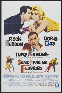 "Send Me No Flowers (Universal, 1964). One Sheet (27"" X 41""). Comedy"