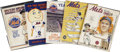 Baseball Collectibles:Publications, 1962-78 New York Mets Official Yearbooks Lot of 10....