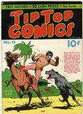 Platinum Age (1897-1937):Miscellaneous, Tip Top Comics #13 (United Features Syndicate, 1937) Condition:FN+....