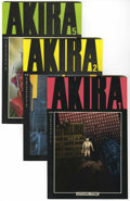 Modern Age (1980-Present):Science Fiction, Akira Group (Marvel, 1988) Condition: Average NM-.... (Total: 7Comic Books)