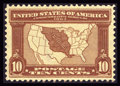 Stamps, #327, 1904, 10c Red Brown, XF-S 95 PSE. (Original Gum - Never Hinged)....