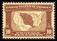 #327, 1904, 10c Red Brown, XF-S 95 PSE. (Original Gum - Never Hinged)