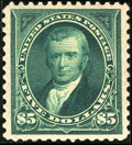 Stamps, #278, 1895, $5 Dark Green, XF-S 95 PSE. (Original Gum - Previously Hinged).... (Total: 1 Slab)