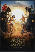 "Movie Posters:Animated, The Prince of Egypt (DreamWorks, 1998). One Sheets (2) (27"" X 40"")DS Style A and Style B Advance. Animated.... (Total: 2 Items)"