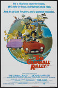 """Movie Posters:Comedy, The Gumball Rally (Warner Brothers, 1976). One Sheet (27"""" X 41"""") Style A and Lobby Cards (7) (11"""" X 14). Comedy.... (Total: 8 Items)"""