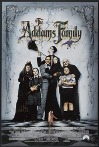 "The Addams Family (Paramount, 1991). One Sheets (2) (27"" X 40"") Advance and Regular. Comedy.... (Total: 2 Item..."