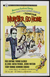 """Munster, Go Home (Universal, 1966). One Sheet (27"""" X 41""""). Comedy"""