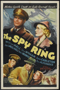 """Movie Posters:Crime, The Spy Ring (Universal, 1938). One Sheet (27"""" X 41""""). Crime...."""
