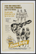 "Movie Posters:Bad Girl, Swedish Fly Girls (Trans American, 1972). One Sheet (27"" X 41"").Bad Girl...."