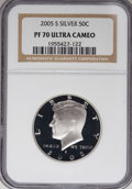 Proof Kennedy Half Dollars, 2005-S 50C Silver PR70 Ultra Cameo NGC. PCGS Population (88/0). Numismedia Wsl. Price for NGC/PCGS coin...