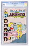 Bronze Age (1970-1979):Humor, Richie Rich Jackpots #7 File Copy (Harvey, 1973) CGC NM/MT 9.8Off-white to white pages....