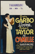 "Movie Posters:Drama, Camille (MGM, 1937). Window Card (14"" X 21.75""). Drama...."