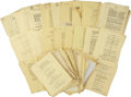 Movie/TV Memorabilia:Memorabilia, Billy Wilder Stalag 17 Script. ...