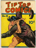 Platinum Age (1897-1937):Miscellaneous, Tip Top Comics #18 (United Features Syndicate, 1937) Condition:FN....
