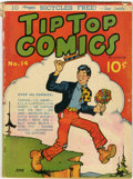 Platinum Age (1897-1937):Miscellaneous, Tip Top Comics #14 (United Features Syndicate, 1937) Condition:GD/VG....