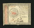 Colonial Notes:Continental Congress Issues, Continental Currency January 14, 1779 $45 Fine-Very Fine....