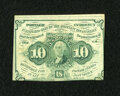 Fractional Currency:First Issue, Fr. 1242 10¢ First Issue Extremely Fine....