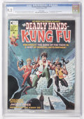 Magazines:Superhero, The Deadly Hands of Kung Fu #16 (Marvel, 1975) CGC NM- 9.2 Whitepages....
