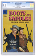 Silver Age (1956-1969):Western, Four Color #1029 Boots and Saddles - File Copy (Dell, 1959) CGC NM+ 9.6 Off-white pages....