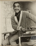 Memorabilia:Movie-Related, Sammy Davis Jr. Photo (undated)....