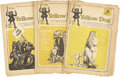 Silver Age (1956-1969):Alternative/Underground, Yellow Dog Tabloid Group (Print Mint, 1968-69).... (Total: 8 Items)