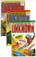 Silver Age (1956-1969):Horror, Adventures Into The Unknown Group (ACG, 1964-65) Condition: Average VF.... (Total: 8 Comic Books)