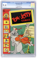 Golden Age (1938-1955):Cartoon Character, Tom and Jerry #64 File Copy (Dell, 1949) CGC NM 9.4 Off-white towhite pages....