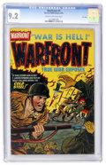 Golden Age (1938-1955):War, Warfront #9 File Copy (Harvey, 1952) CGC NM- 9.2 Cream to off-whitepages....