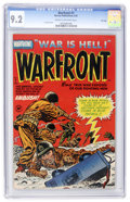 Golden Age (1938-1955):War, Warfront #7 File Copy (Harvey, 1952) CGC NM- 9.2 Cream to off-whitepages....