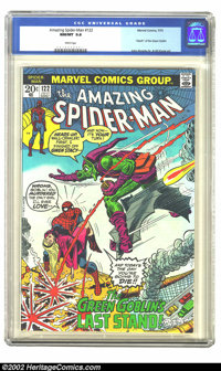 The Amazing Spider-Man #122 (Marvel, 1973) CGC NM/MT 9.8 White pages. Of the hundreds of copies of this issue that have...