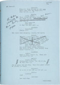Movie/TV Memorabilia:Documents, Mark Hellinger's Personal Scripts: Brother Orchid, Manpower,Between Two Worlds, Affectionately Yours, The Two Mrs. Carr...(Total: 5 Items)