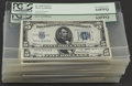Small Size:Silver Certificates, Fr. 1650 $5 1934 Silver Certificates. Eighty-four Examples. PCGS Graded.. ... (Total: 84 )
