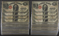 One Hundred Series 1917 $1 Legal Tender Notes