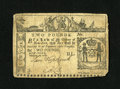 Colonial Notes:New York, New York February 16, 1771 £2 Very Fine....