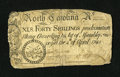 Colonial Notes:North Carolina, North Carolina April 4, 1748 40s Fine....