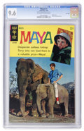 Silver Age (1956-1969):Adventure, Maya #1 File Copy (Gold Key, 1968) CGC NM+ 9.6 Off-white to white pages....