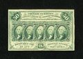 Fractional Currency:First Issue, Fr. 1312 50¢ First Issue New....