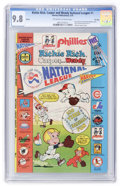 Bronze Age (1970-1979):Cartoon Character, Richie Rich, Casper and Wendy National League #1 - File Copy(Harvey, 1976) CGC NM/MT 9.8 Off-white to white pages....