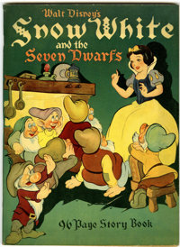 Snow White and the Seven Dwarfs Story Book (Whitman, 1938)